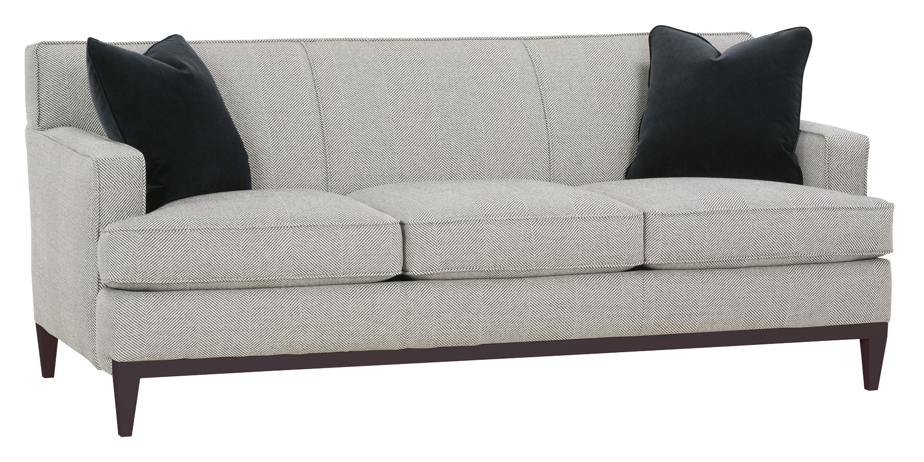 tight back sofas white leather sofa cadence modern apartment collection fabric