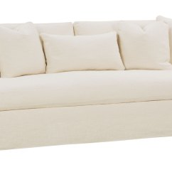 Extra Long Sofa Slipcover Dwell Bed Slipcovered 3 Lenghts Select A Size Bench Seat