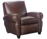 Leather Cigar Recliner Chair