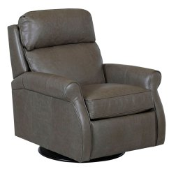 Pop Up Recliner Chairs Spa Pedicure Chair Rolled Arm Pillow Back Leather 360 Swivel