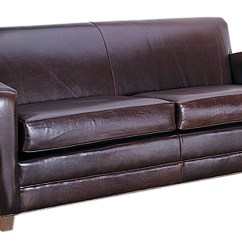 Low Profile Leather Sectional Sofa Love Seat Paris Art Deco Italian With Two