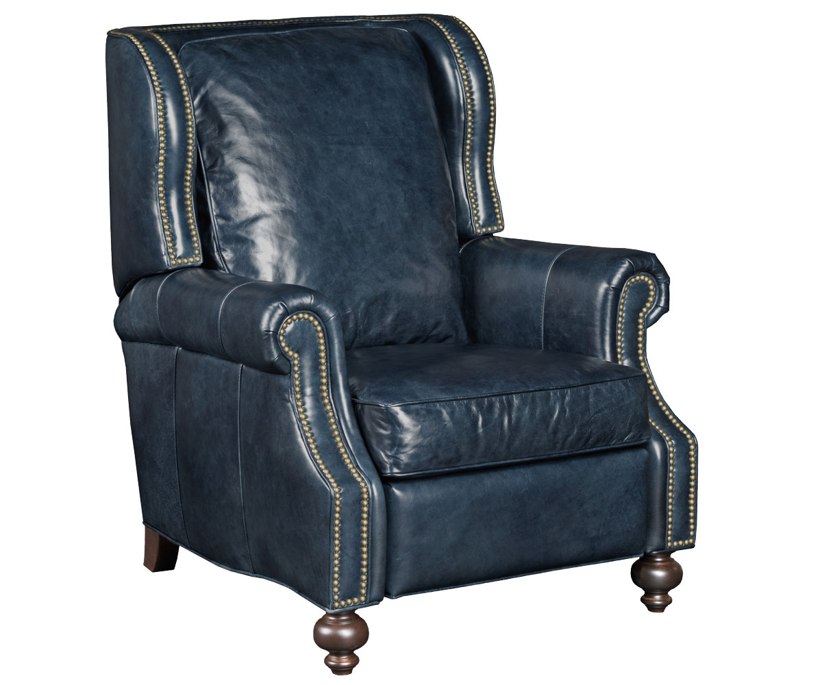 traditional leather wingback chair senior yoga paulson wing back reclining chairs and
