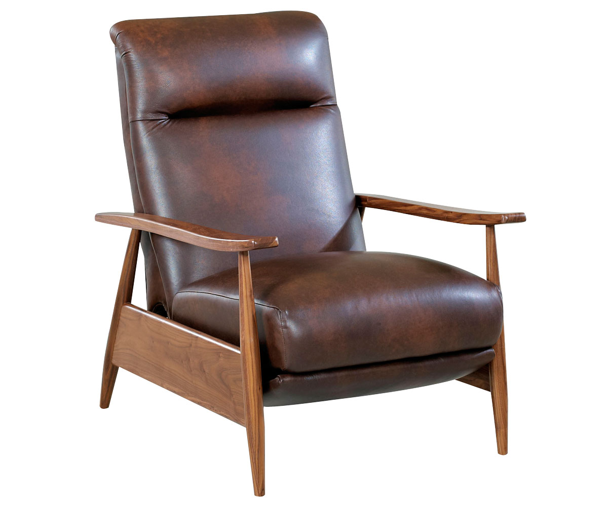 Modern Recliner Chair A Modern Recliner Take On Mid Century Design Club Furniture