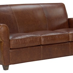 Rustic Leather Sofas Snack Sofa Table Roselawnlutheran