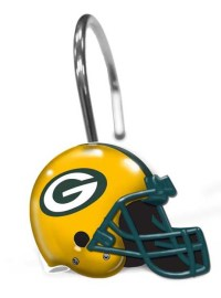 Green Bay Packers Shower Curtain Rings