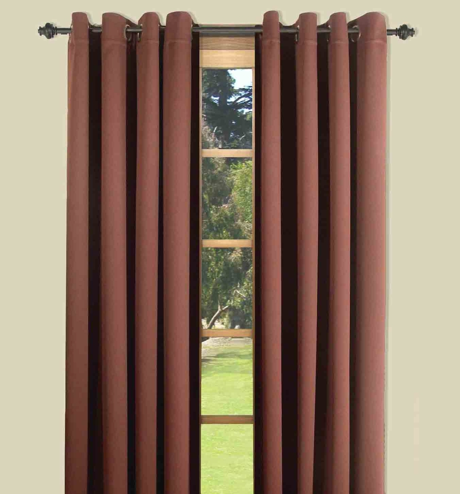 Ultimate Black Out Grommet Top Curtain Panels