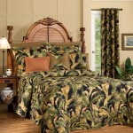 Quilted Bedspread La Selva Black By Thomasville