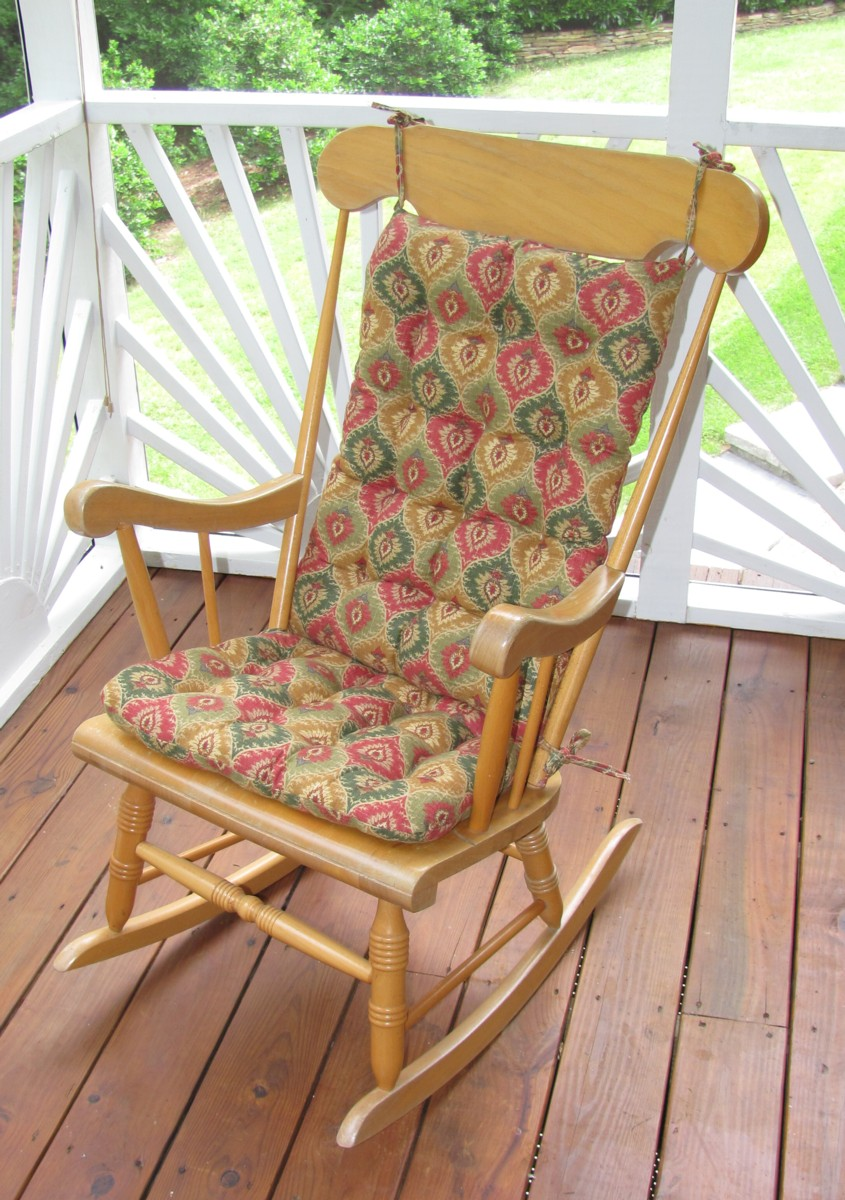 indoor rocking chair cushion sets hardwood mat canada and more - clearance!!