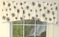 black and white swag curtains - Home The Honoroak