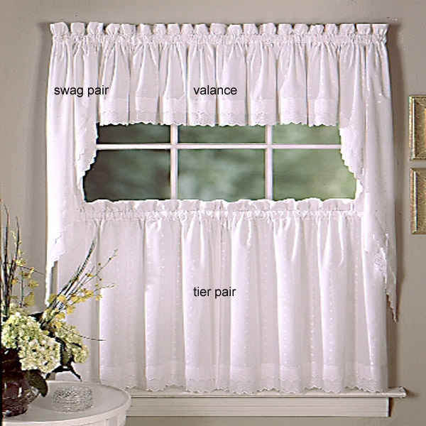 swag curtains for kitchen lowes sinks and faucets designer thecurtainshop com