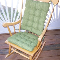 Large Rocking Chair Cushion Sets Wedding Cover Hire Shrewsbury And More Clearance
