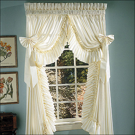 Country Curtains Ruffled Curtains at TheCurtainShopcom