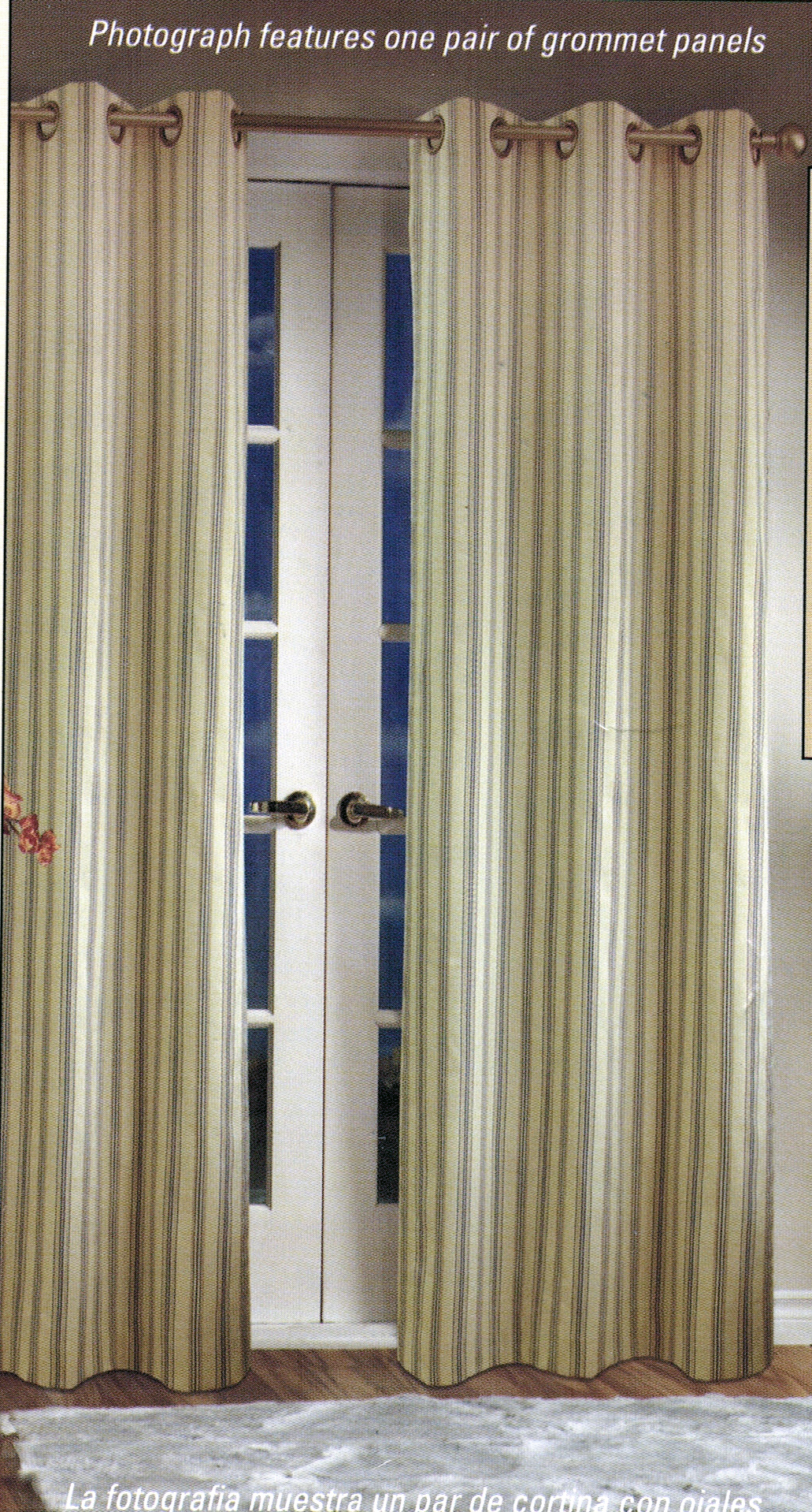 Weathermate Stripe Insulated Grommet Panel pair  Thermalogic  CLEARANCE