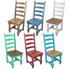 Painted Tables And Chairs Chair With Desk 8 Ft Mexican Colonial Turquoise Wood Dining Table