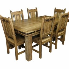 Southwest Dining Chairs Where To Buy Chair Covers In South Africa Mexican Iron Banded Set 7 Piece