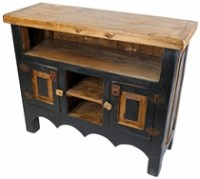 Painted Wood Living Room Furniture from Mexico