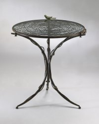 Bird Nest Iron Bistro Table by Cyan Design