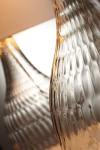 Large Big Dipper Modern Glass Table Lamp by Cyan Design