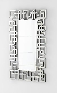 Psara Square Wall Mirror by Cyan Design