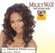milkyway human hair weave french