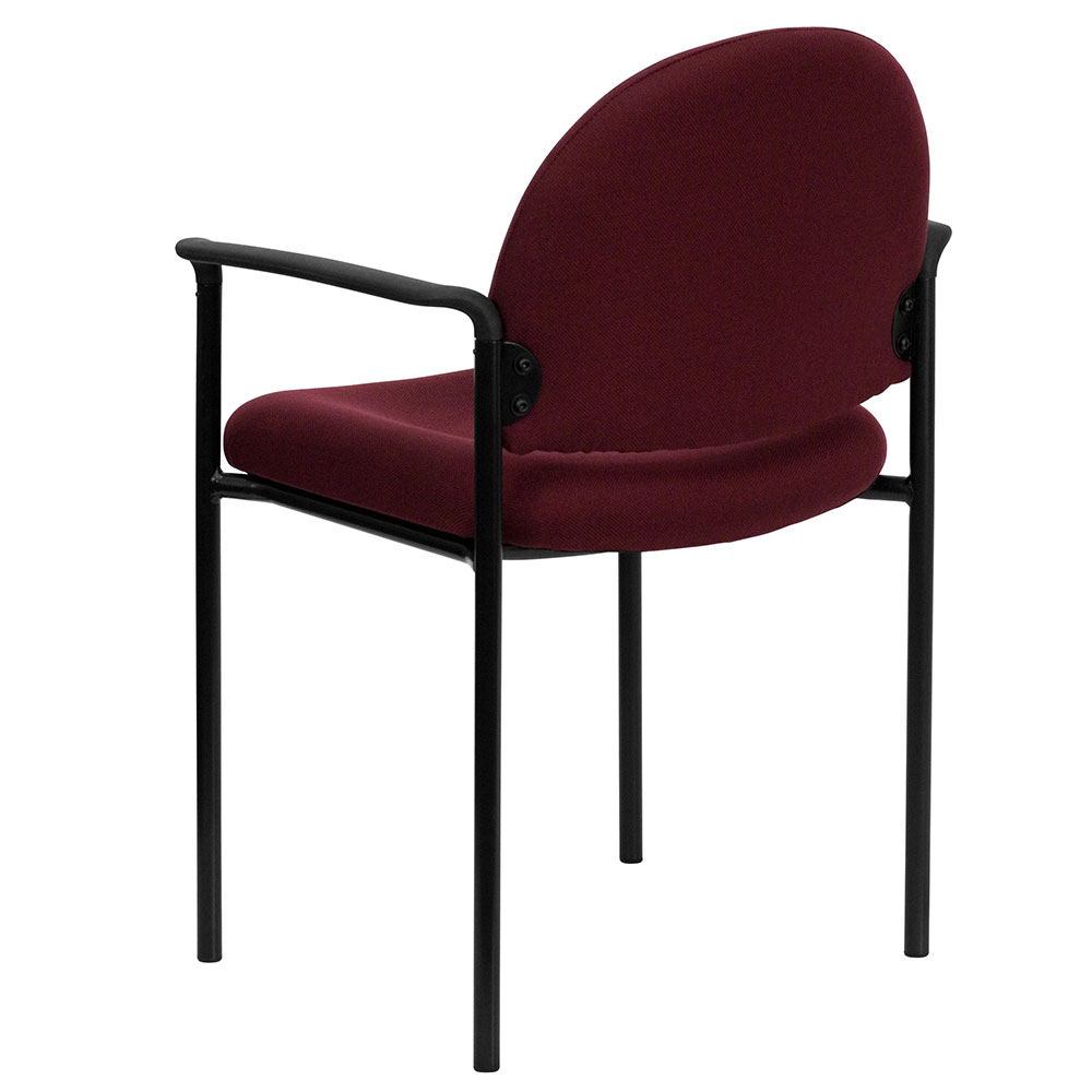 adjustable drafting chair steel ergonomic home burgundy fabric comfortable stackable side with arms