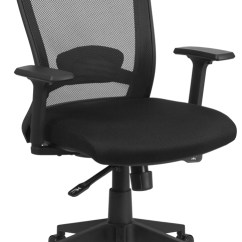 Ergonomic Chair Angle Covers For Headrest Home Mid Back Black Mesh Executive Swivel Office With Adjustment Eh