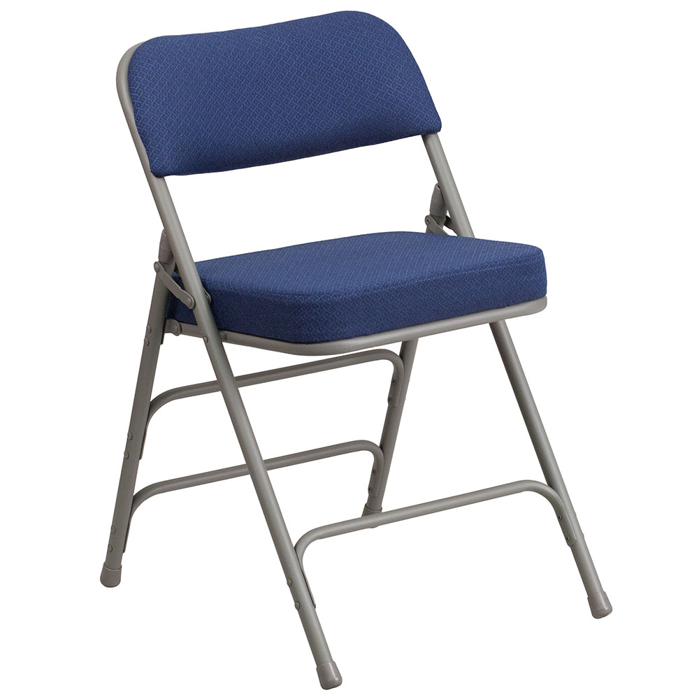 fold away computer chair aluminum web lawn chairs school furniture training tables classroom nesting hercules series premium curved triple braced double hinged navy fabric upholstered metal folding