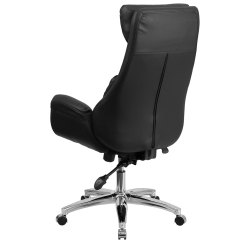 Chair Mesh Stool Carters High Cover Ergonomic Home Back Black Leather Executive Swivel Office With Lumbar Pillow