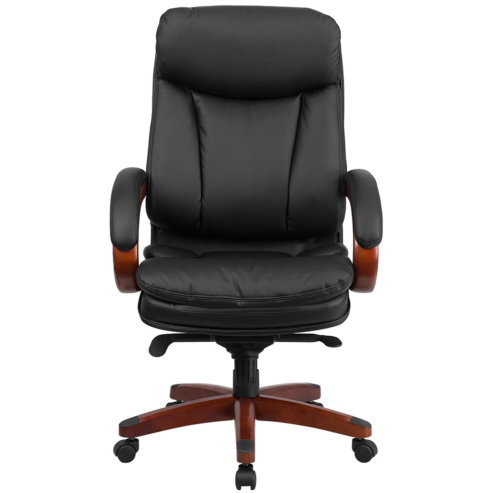 mesh drafting chair ergonomic tips home high back black leather executive swivel office with synchro-tilt mechanism ...