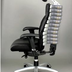 Lumbar Support Office Chair Rocking Recliner Verte By Rfm #22011 | Adjustable Back With Headrest Taa ...