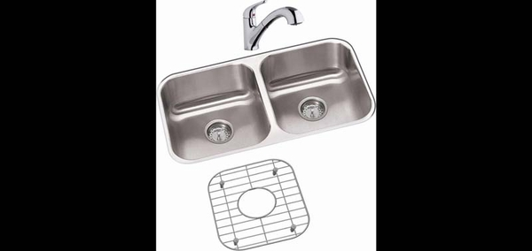 Elkay Dayton Double Bowl Undermount Stainless Steel