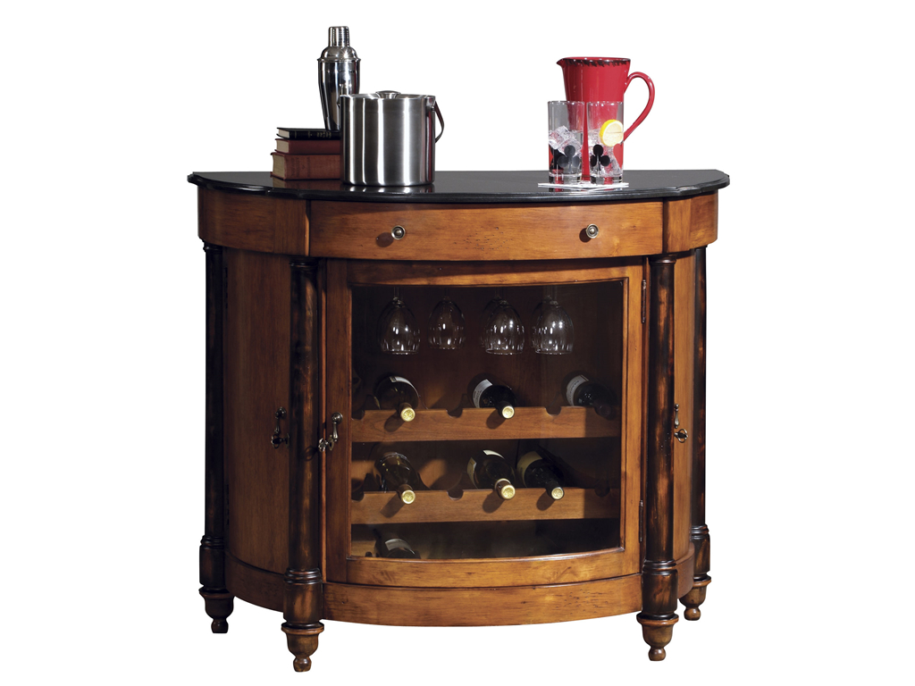Merlot Valley Wine  Bar Cabinet by Howard Miller