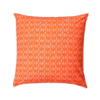Marimekko Kuukuna Orange Throw Pillow