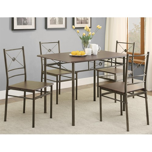 Modern 5PC Dining Room Chair Cheap Discounted VA Furniture