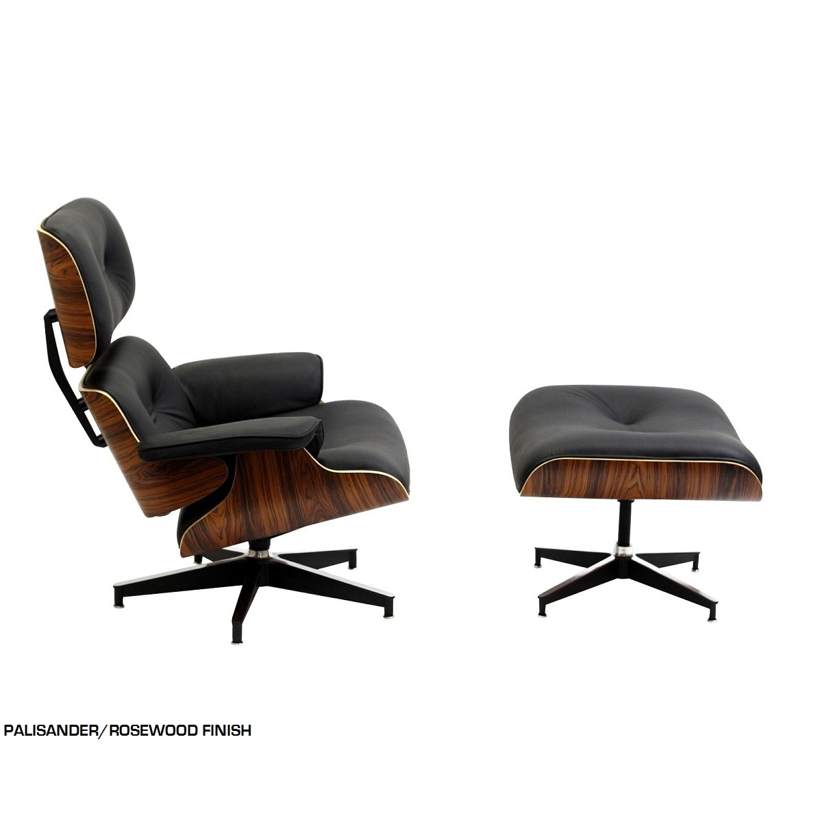 Chair And Ottoman Set Shop Eames Style Mid Century Lounge Chair Ottoman Set For Only 2049