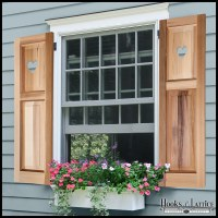 Cut Out Shutters, Decorative Shutters, Designer Shutters