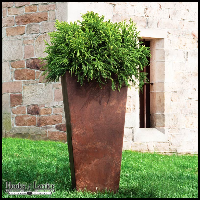 Tall Outdoor Planters