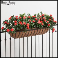 Planters for Deck Railings, Hayracks | Hooks and Lattice