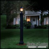 Exterior lamp posts, decorative lamp post, residential ...