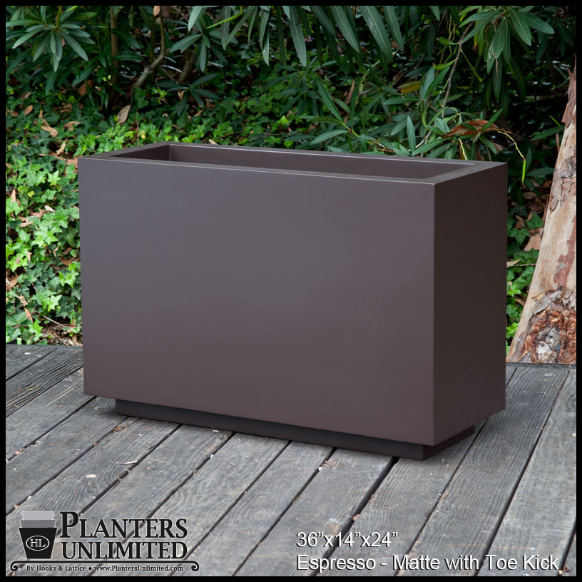 Tall Rectangular Planter