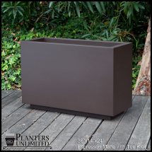 Large Outdoor Planters-rectangular Long Planters
