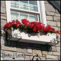 Window Boxes & Planter Boxes - Hooks & Lattice