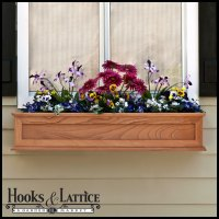 Wooden Window Boxes, Wooden Flower Box, Wood Window Boxes ...