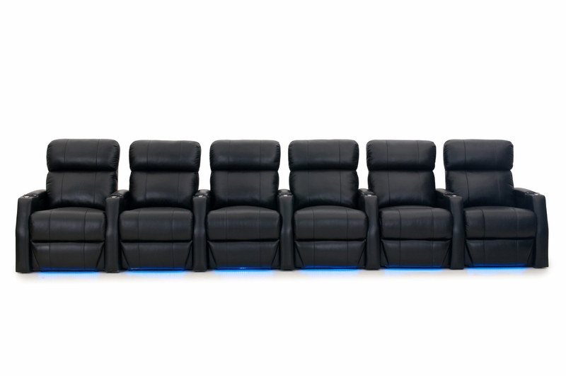 home theater leather sofa teal cushions htdesign warwick seating top grain
