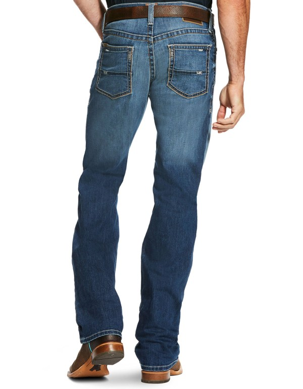 Low Rise Boot Cut Jeans for Men