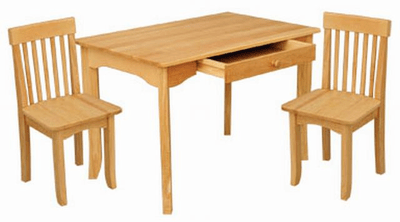 kidkraft avalon chair dining room arm table and set click to enlarge