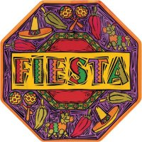 """Fiesta Party Paper Plates Octagonal 10"""" Pack of 8"""