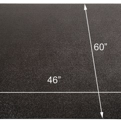 Office Chair Mat 36 X 60 Mission Style Dining Room Chairs Black Mats For Low Pile Carpets - 36