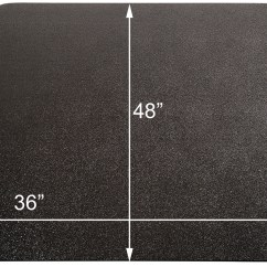 Office Chair Mat 48 X Yellow Swivel Accent Black Mats For Hard Floors 36 Quotx Quot Rectangular