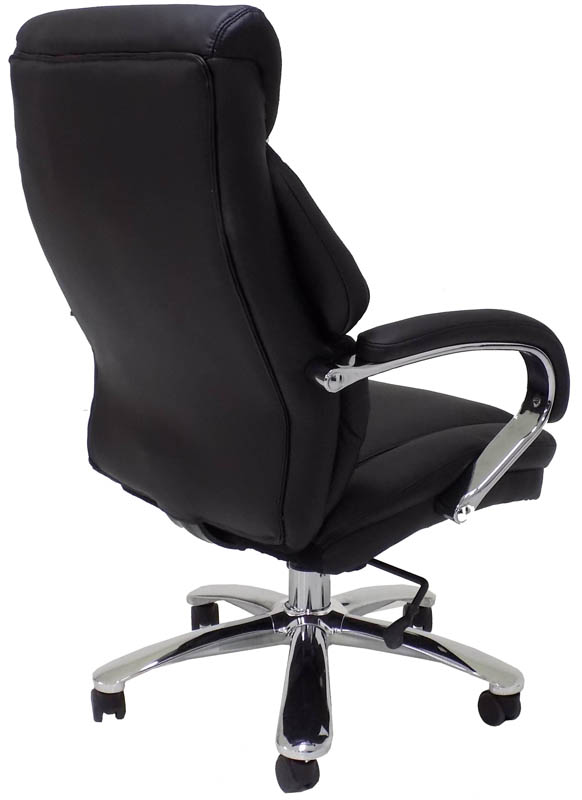 big and tall computer chairs bears bean bag chair extra wide 500 lbs. capacity leather office w/ 24